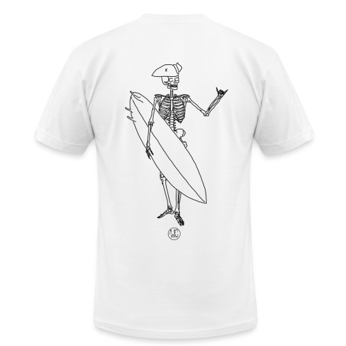 Skelly surfer - Men's Fine Jersey T-Shirt
