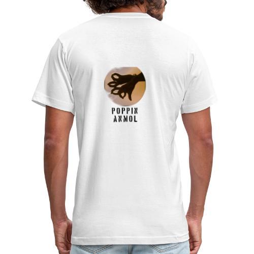 Logo with name - Men's  Jersey T-Shirt