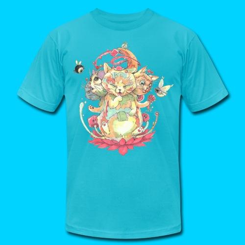 Contraption Brahma Neko - Men's Jersey T-Shirt