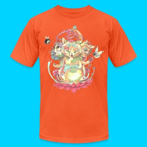 Contraption Brahma Neko - Unisex Jersey T-Shirt by Bella + Canvas