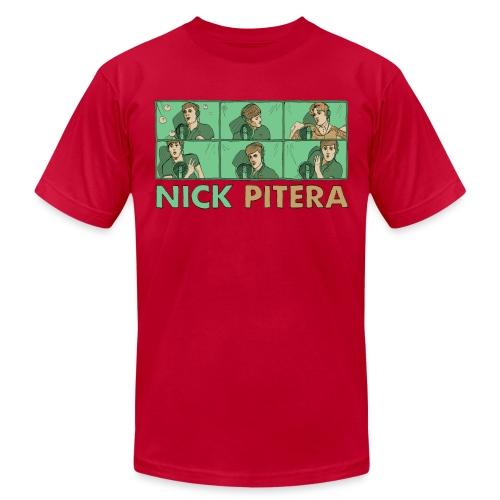 nicktshirttransparentfilled - Unisex Jersey T-Shirt by Bella + Canvas