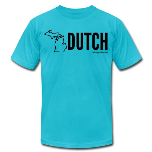 Michigan Dutch (black) - Unisex Jersey T-Shirt by Bella + Canvas