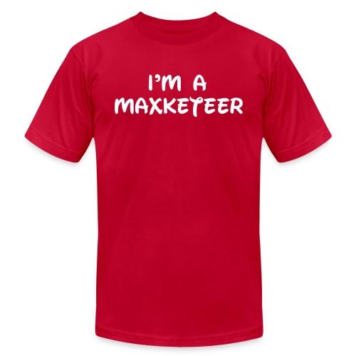 MaxketeerWHT - Unisex Jersey T-Shirt by Bella + Canvas