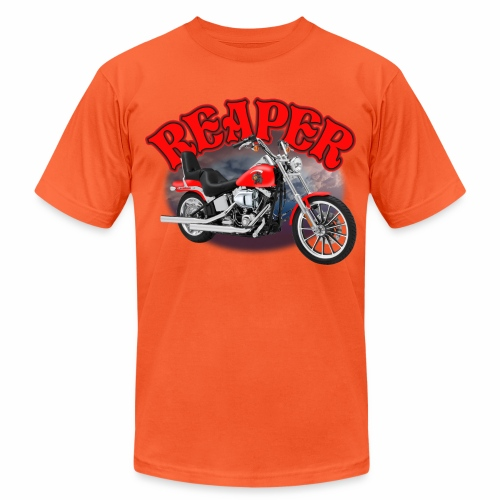 Motorcycle Reaper - Unisex Jersey T-Shirt by Bella + Canvas