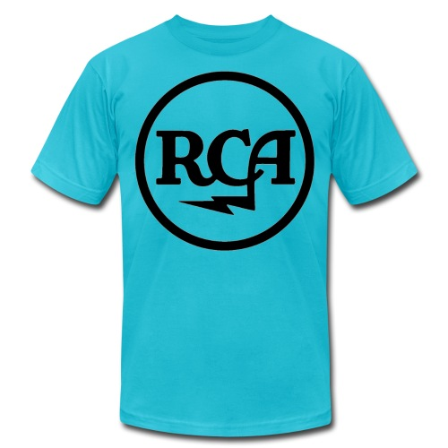 RCA radio - Unisex Jersey T-Shirt by Bella + Canvas