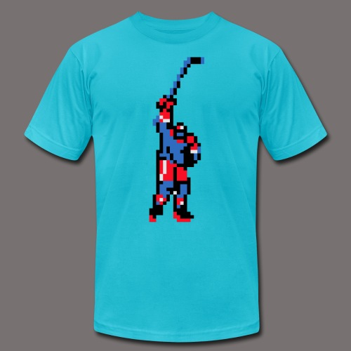 The Goal Scorer Blades of Steel - Unisex Jersey T-Shirt by Bella + Canvas