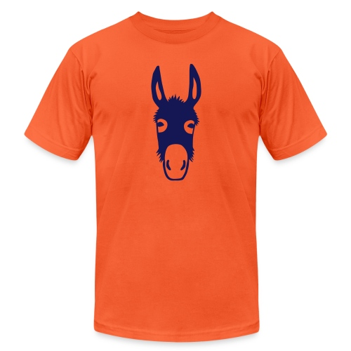 donkey mule horse muli pony - Unisex Jersey T-Shirt by Bella + Canvas