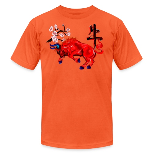 The Red Ox - Unisex Jersey T-Shirt by Bella + Canvas