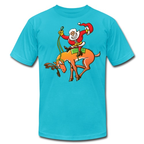 Christmas Rodeo - Unisex Jersey T-Shirt by Bella + Canvas
