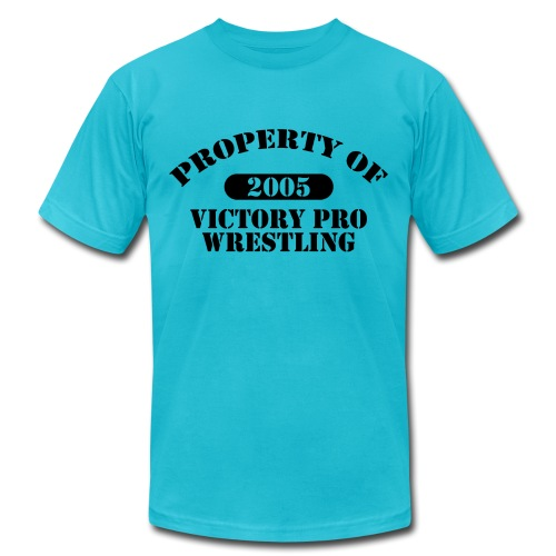 Property of Victory Pro Wrestling - Unisex Jersey T-Shirt by Bella + Canvas