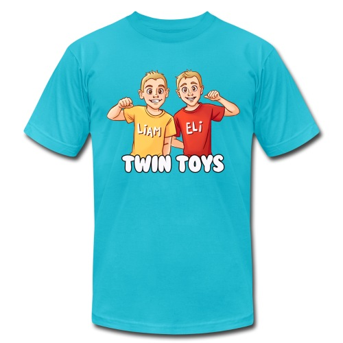 twintoys1500new1 - Unisex Jersey T-Shirt by Bella + Canvas
