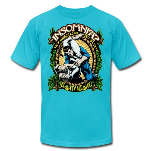 Insomnia Brazilian Jiu Jitsu - Unisex Jersey T-Shirt by Bella + Canvas