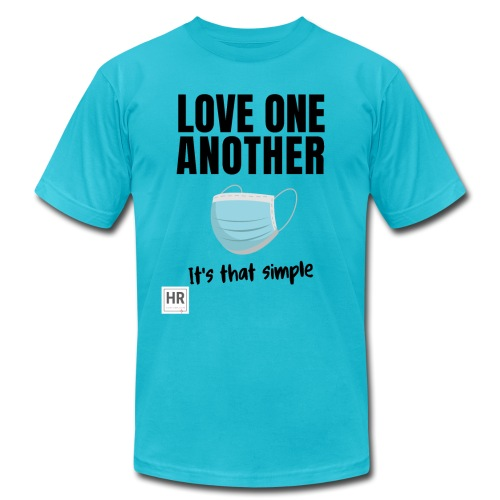 Love One Another - It's that simple - Unisex Jersey T-Shirt by Bella + Canvas