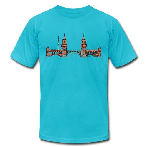 Oberbaum Bridge Berlin - Unisex Jersey T-Shirt by Bella + Canvas