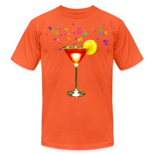 Cosmopolitan cocktail print - Unisex Jersey T-Shirt by Bella + Canvas