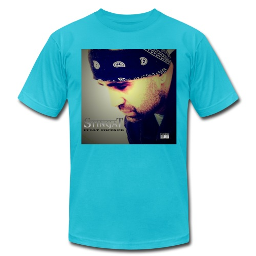 Fully Focused album cover png - Unisex Jersey T-Shirt by Bella + Canvas