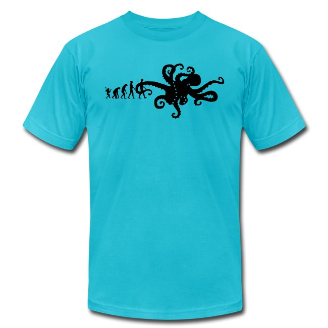 Graffiti Octopus With Spray Can Kids Childrens T-Shirt
