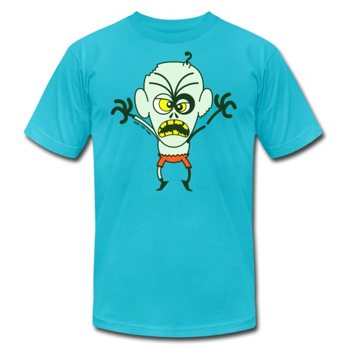 Scary Halloween Zombie - Unisex Jersey T-Shirt by Bella + Canvas