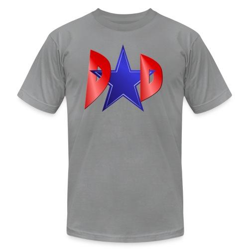Blue Star Dad - Unisex Jersey T-Shirt by Bella + Canvas