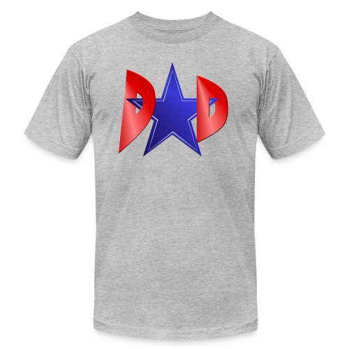 Blue Star Dad - Unisex Jersey T-Shirt by Bella + Canvas