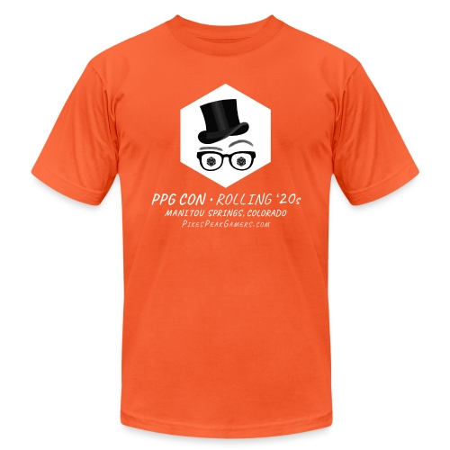 Pikes Peak Gamers Convention 2020 - Unisex Jersey T-Shirt by Bella + Canvas