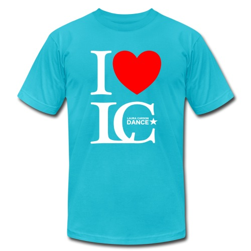 I Heart LCDance - Unisex Jersey T-Shirt by Bella + Canvas