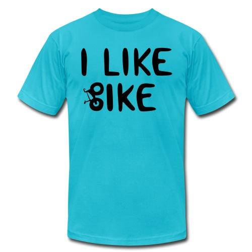 I Like Bike - Unisex Jersey T-Shirt by Bella + Canvas
