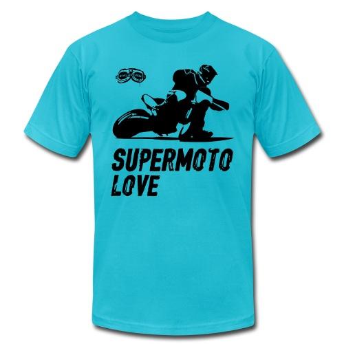 Supermoto Love - Unisex Jersey T-Shirt by Bella + Canvas