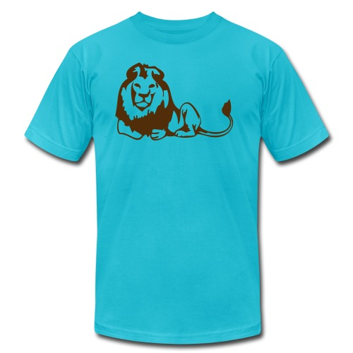 lions - Unisex Jersey T-Shirt by Bella + Canvas