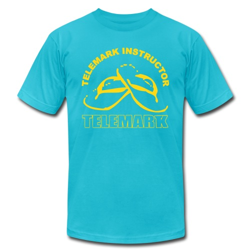 Telemark Instructor - Unisex Jersey T-Shirt by Bella + Canvas