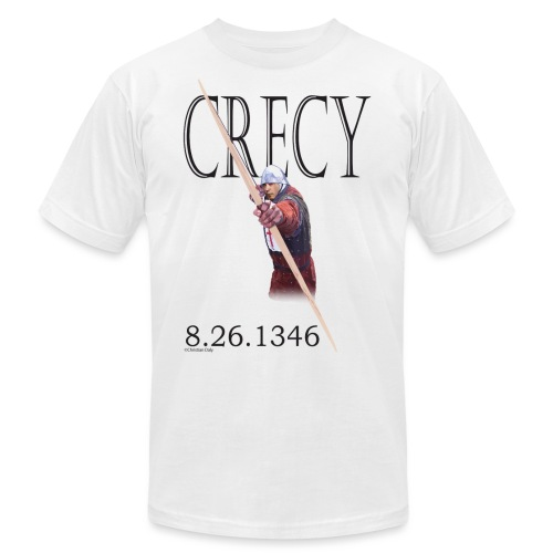 Crecy Standard Men's T - Unisex Jersey T-Shirt by Bella + Canvas