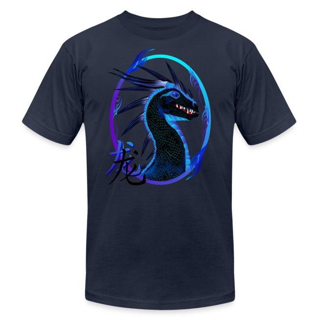 Horned Black Dragon and Symbol