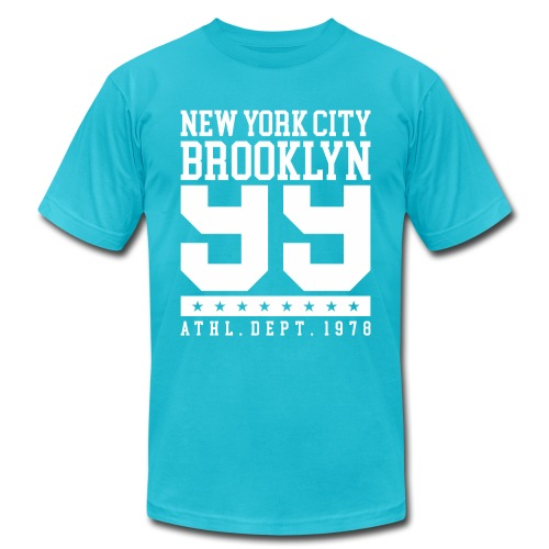 new york city brooklyn - Unisex Jersey T-Shirt by Bella + Canvas