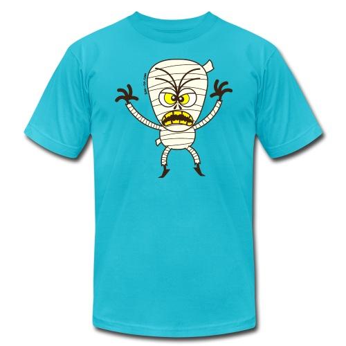 Scary Halloween Mummy - Unisex Jersey T-Shirt by Bella + Canvas