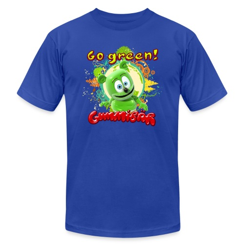 Gummibär Go Green Earth Day Trees - Unisex Jersey T-Shirt by Bella + Canvas
