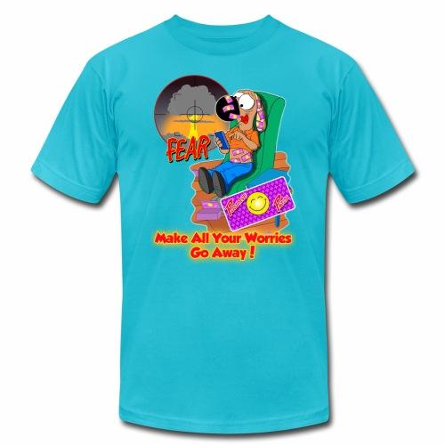 Go Away - Unisex Jersey T-Shirt by Bella + Canvas