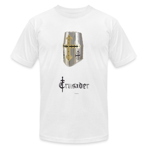 crusader_white - Unisex Jersey T-Shirt by Bella + Canvas