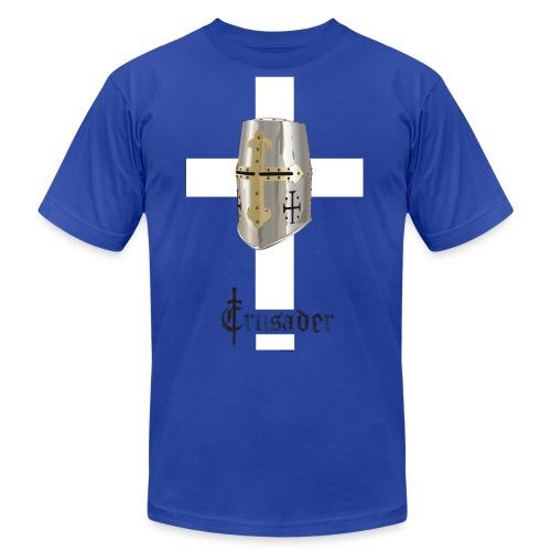 crusader_white - Unisex Jersey T-Shirt by Bella + Canvas