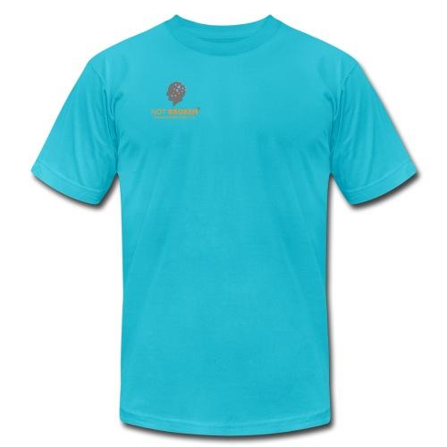 Not Broken Logo TM png - Unisex Jersey T-Shirt by Bella + Canvas