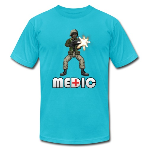 medic design v1 png - Unisex Jersey T-Shirt by Bella + Canvas