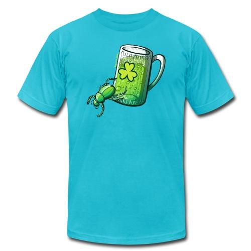 Saint Patrick's Day Beetle - Men's Jersey T-Shirt
