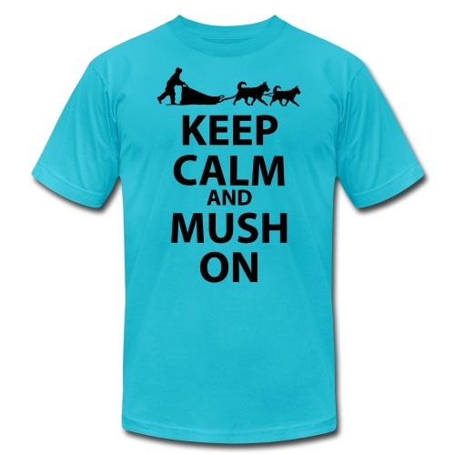 Keep Calm & MUSH On - Unisex Jersey T-Shirt by Bella + Canvas