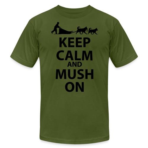 Keep Calm & MUSH On - Unisex Jersey T-Shirt by Bella + Canvas