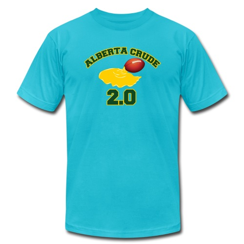 Alberta Crude 2 0 - Unisex Jersey T-Shirt by Bella + Canvas