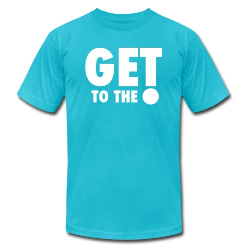 get to the point 7 - Men's Jersey T-Shirt