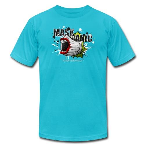 mask panic - Unisex Jersey T-Shirt by Bella + Canvas