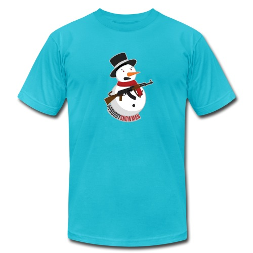 PRODBYSNOWMAN - Unisex Jersey T-Shirt by Bella + Canvas