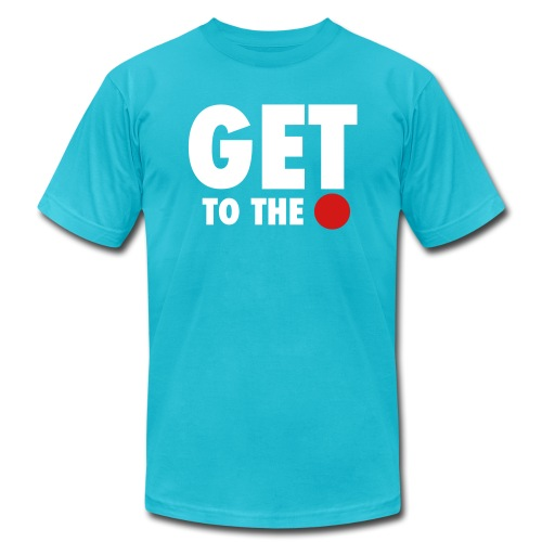 get to the point 6 - Men's Jersey T-Shirt