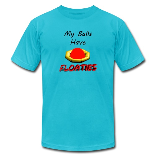 My Balls Have Floaties - Unisex Jersey T-Shirt by Bella + Canvas