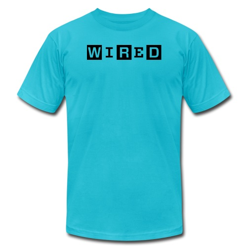 wired 1 color original - Unisex Jersey T-Shirt by Bella + Canvas